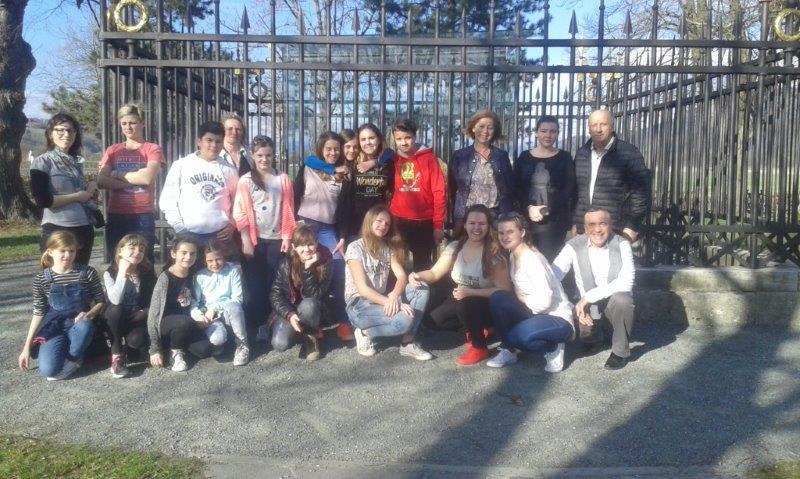 Obisk na slovenski gimnaziji v Celovcu