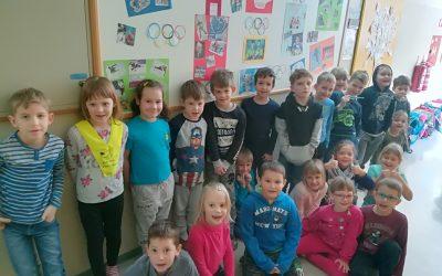 Učenci 1. razreda – spremljanje olimpijskih iger