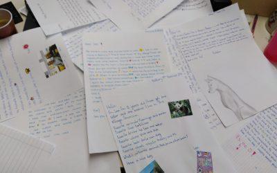Začetek dopisovanja z učenci iz Danske