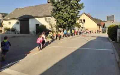 Športni dan – Pohod na Vetrnik – 1. razred