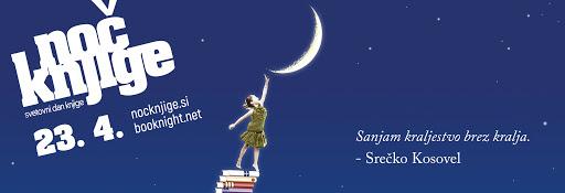 Noč knjige 2021 – Svetovni dan knjige – 23. april