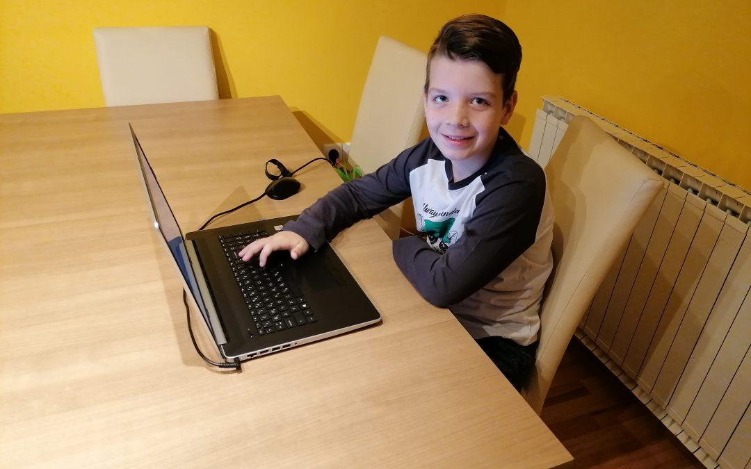Anže Daničič na šolskem državnem prvenstvu v šahu
